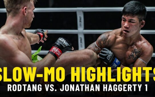 Rodtang Jitmuangnon vs. Jonathan Haggerty | Slow-Mo Fight Highlights