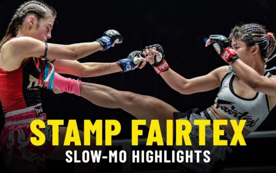 Stamp Fairtex IN SLOW-MO