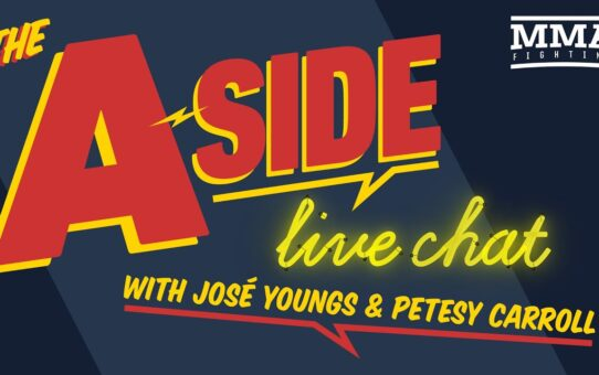 The A-Side Live Chat: UFC 249 rumors, Tyron Woodley's war of words with Israel Adesanya, more