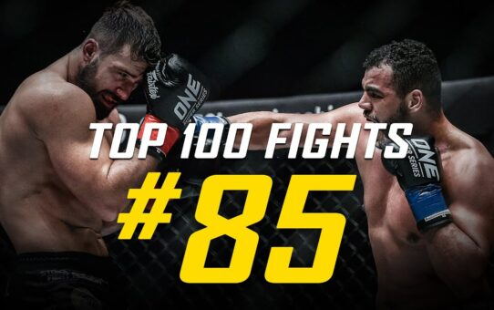 Tarik Khbabez vs. Andrei Stoica | ONE Championship's Top 100 Fights | #85
