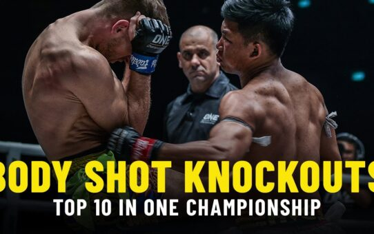 Top 10 Body Shot Knockouts In ONE Championship