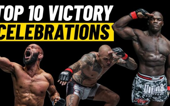 Top 10 ONE Championship Post-Fight Celebrations