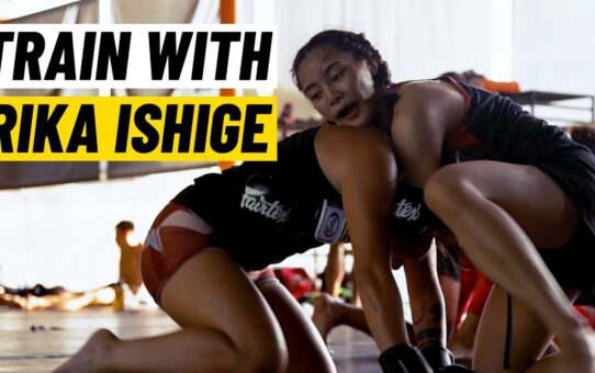 Training With Rika Ishige | Mixed Martial Arts Boot Camp
