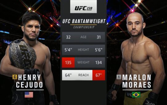 UFC 249 Free Fight: Henry Cejudo vs Marlon Moraes