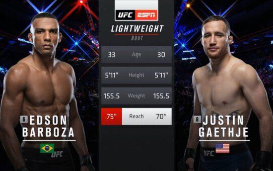UFC 249 Free Fight: Justin Gaethje vs Edson Barboza