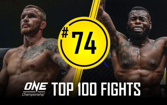 Vitaly Bigdash vs. Leandro Ataides | ONE Championship's Top 100 Fights | #74