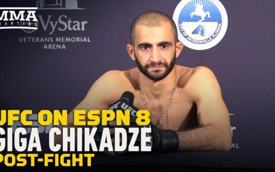 Giga Chikadze Wants to Avenge Teammate Beneil Dariush's KO Loss to Edson Barboza – MMA Fighting