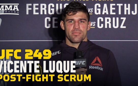 UFC 249: Vicente Luque Explains Hearing Joe Rogan's Commentary During Wild Fight – MMA Fighting