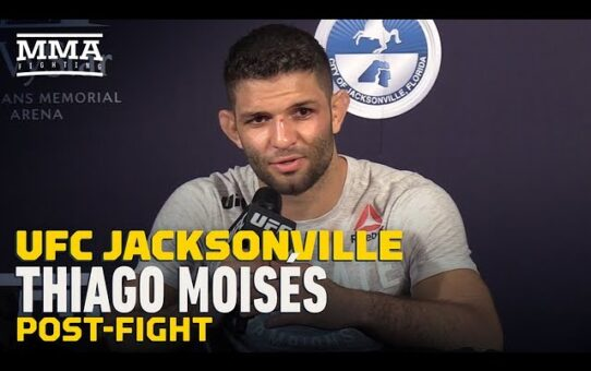 UFC Jacksonville: Thiago Moises Calls For Anthony Pettis Following Submission Win – MMA Fighting