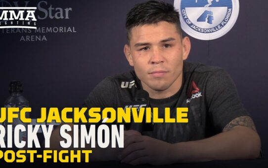 UFC Jacksonville: Ricky Simon Signed New 4-Fight Deal Ahead of Win Over Ray Borg – MMA Fighting