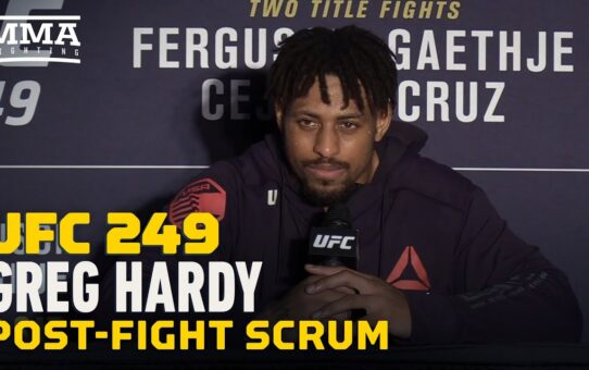 UFC 249: Greg Hardy Aims to Compete on First 'Fight Island' Card – MMA Fighting