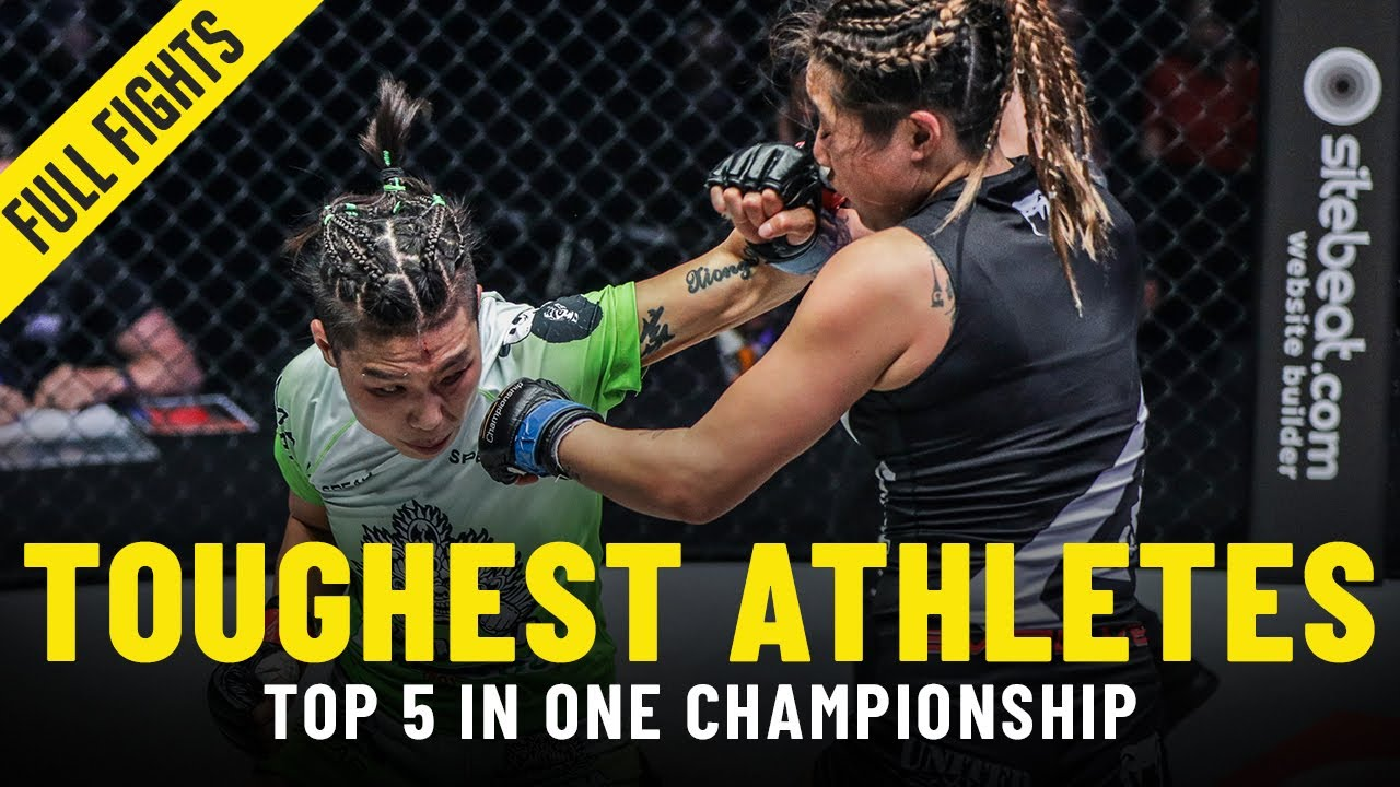 5 Toughest Athletes In ONE Championship | ONE Full Fights