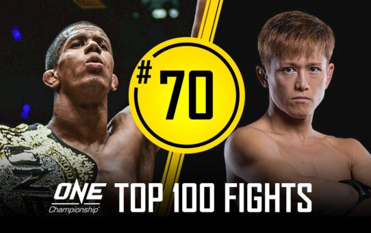Adriano Moraes vs. Riku Shibuya | ONE Championship's Top 100 Fights | #70