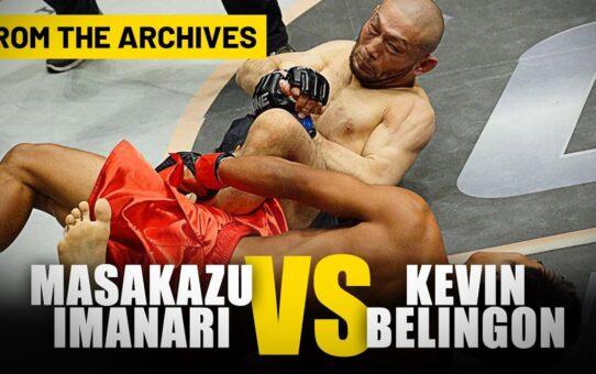 Masakazu Imanari vs. Kevin Belingon | ONE Championship Full Fight | March 2013