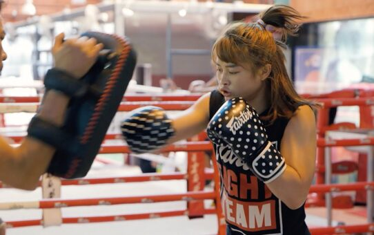 An Inside Look At Stamp Fairtex's Training