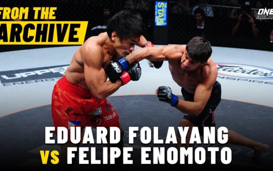 Eduard Folayang vs. Felipe Enomoto | ONE Championship Full Fight | August 2012