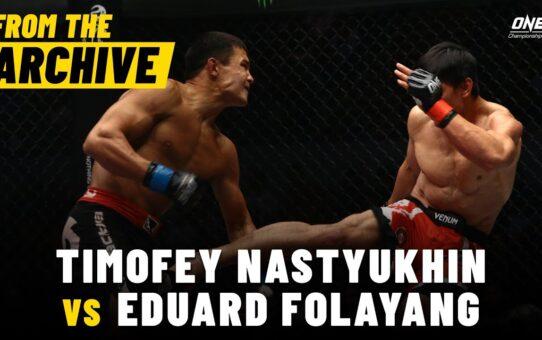 Timofey Nastyukhin vs. Eduard Folayang | ONE Championship Full Fight | December 2014