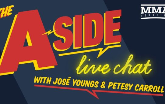 The A-Side Live Chat: Woodley vs. Burns, 'Fight Island,' Masvidal's next move, Covington's future