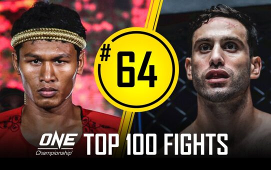 Jo Nattawut's INSANE 1st-Round Knockout | ONE Championship's Top 100 Fights | #64