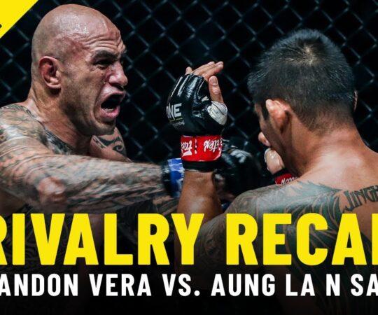 Aung La N Sang vs. Brandon Vera | ONE Championship Rivalry Recap
