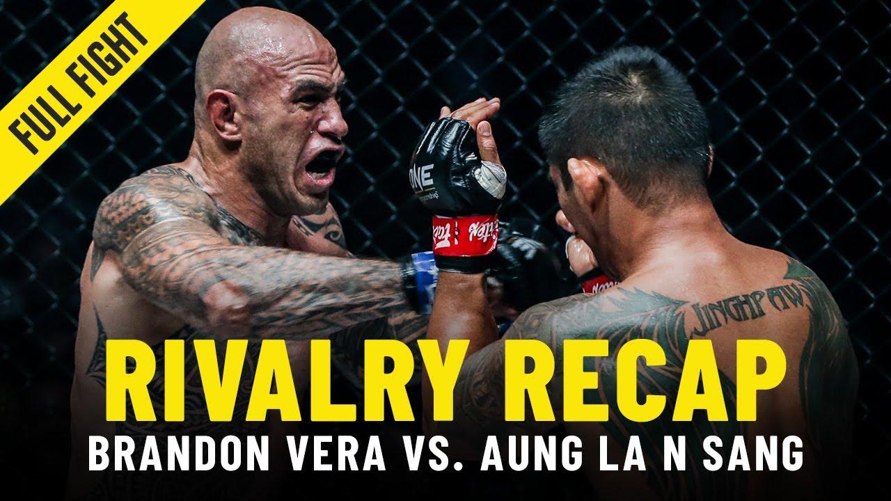 Aung La N Sang vs. Brandon Vera   ONE Championship Rivalry Recap