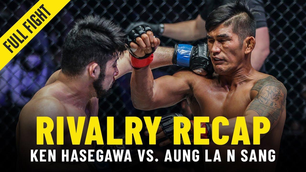 Aung La N Sang vs. Ken Hasegawa   ONE Championship Rivalry Recap