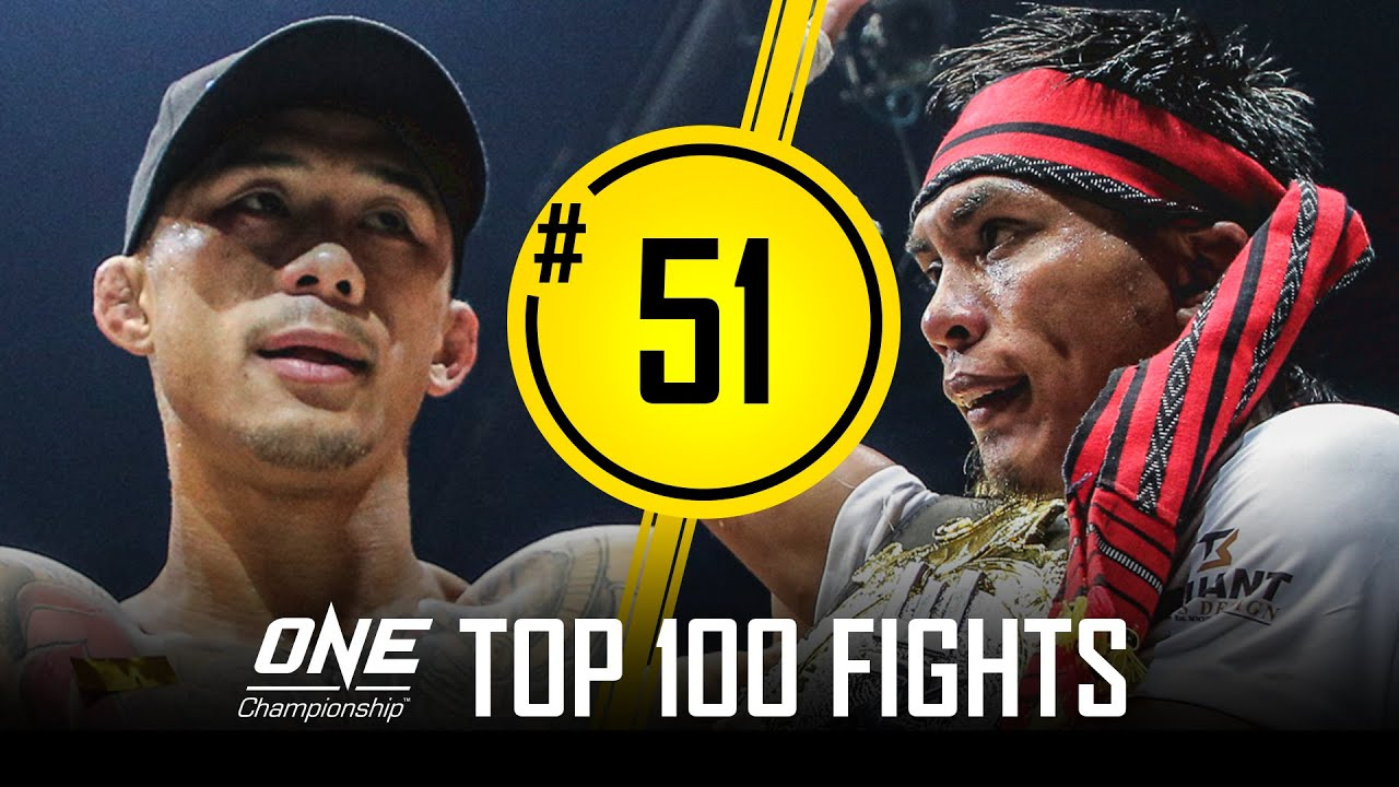 Kevin Belingon Neutralizes Martin Nguyen   ONE Championship's Top 100 Fights   #51
