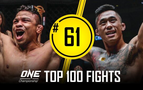 Bibiano Fernandes vs. Martin Nguyen | ONE Championship's Top 100 Fights | #61