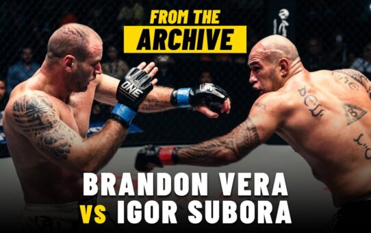 Brandon Vera vs. Igor Subora | ONE Championship Full Fight | December 2014