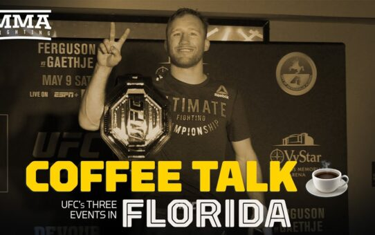 Coffee Talk: Recapping the UFC's Week in Jacksonville – MMA Fighting