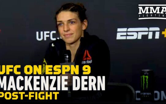 UFC on ESPN 9: Mackenzie Dern Inspired by Williams Sisters, 'Moms Proving Themselves' – MMA Fighting