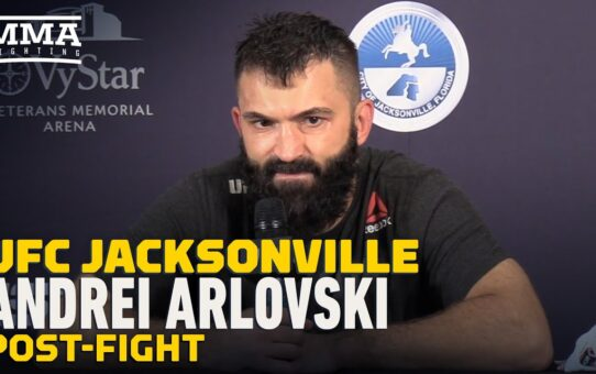 UFC Jacksonville: Andrei Arlovski Would Love To Keep Fighting In Empty Arenas – MMA Fighting