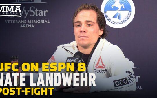 UFC on ESPN 8: Nate Landwehr on Win Over Darren Elkins, 'I Spit Out His Blood' – MMA Fighting