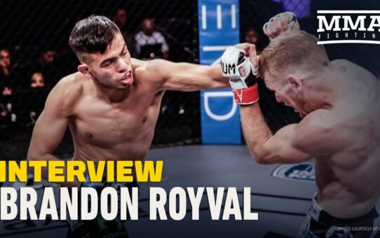 Brandon Royval Hopes to Quit Full-Time Job With Bonus Earning UFC Debut Win – MMA Fighting