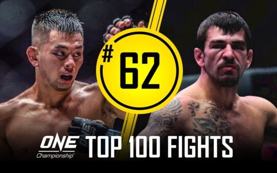 Ev Ting vs. Rob Lisita | ONE Championship's Top 100 Fights | #62