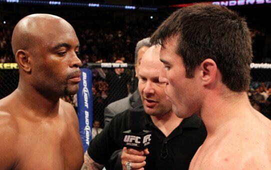Free Fight: Anderson Silva vs Chael Sonnen 1 | UFC 117, 2010