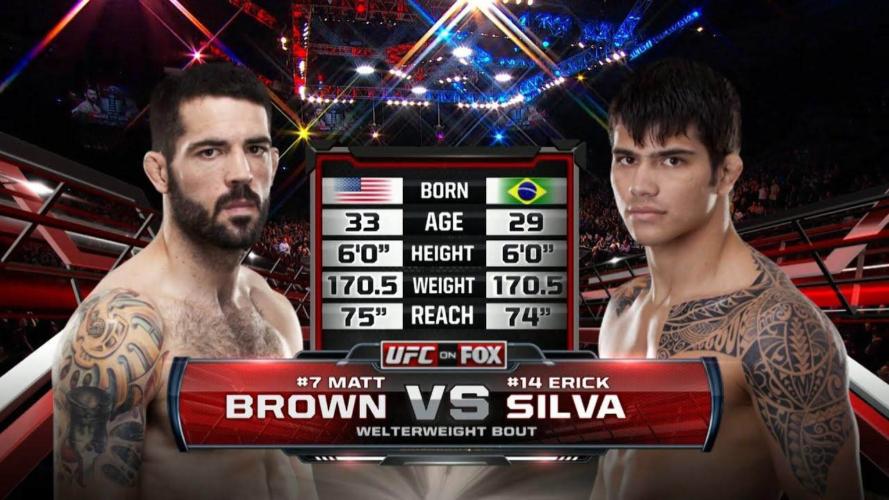 Free Fight: Matt Brown vs Erick Silva   2014