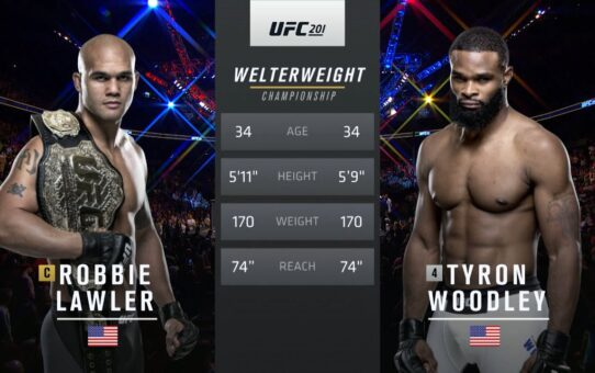 Free Fight: Tyron Woodley vs Robbie Lawler