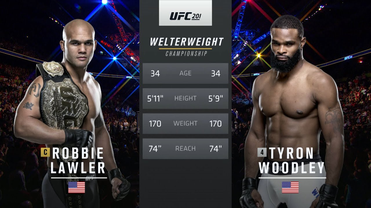 Free Fight: Tyron Woodley vs Robbie Lawler