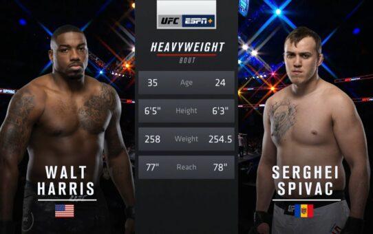Free Fight: Walt Harris vs Sergey Spivak