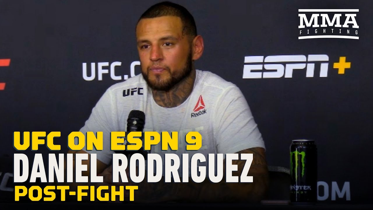 UFC on ESPN 9: Daniel Rodriguez Wanted to Honor Kobe Bryant with Mouthpiece - MMA Fighting