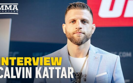 Calvin Kattar: If I Take Out Jeremy Stephens, It's a Short List to the Top – MMA Fighting