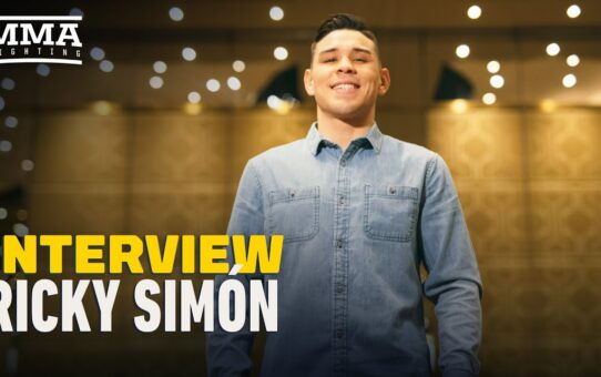 Ricky Simon on UFC Jacksonville Decision: 'I Thought I Was About To Get Robbed' – MMA Fighting
