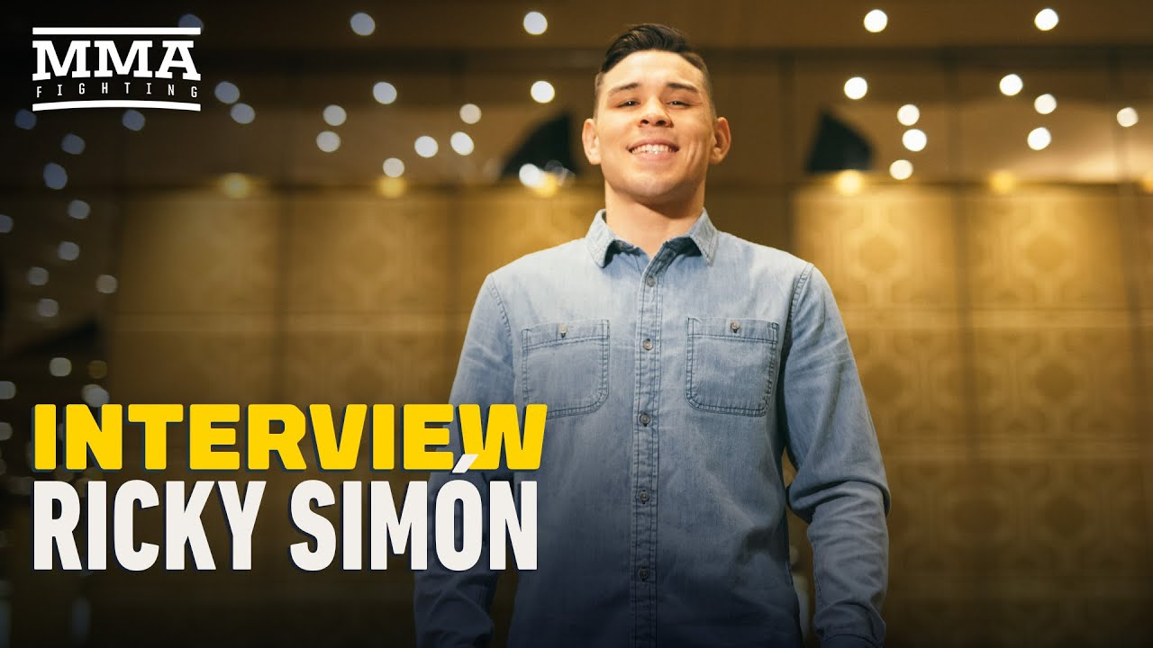 Ricky Simon on UFC Jacksonville Decision: 'I Thought I Was About To Get Robbed' - MMA Fighting