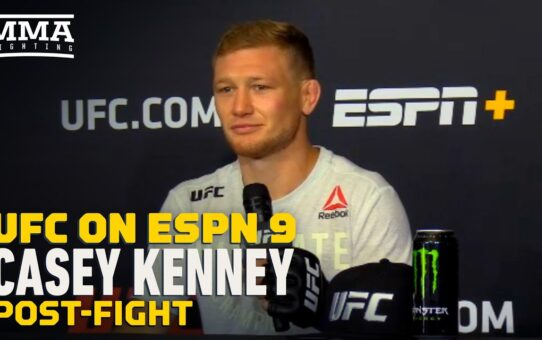 UFC on ESPN 9: Casey Kenney 'Would Love For Jose Aldo' to Win Bantamweight Title – MMA Fighting