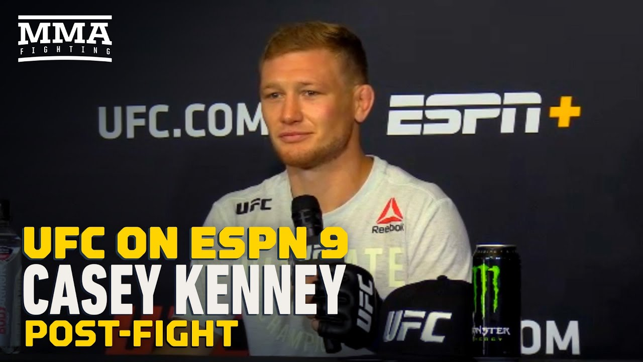 UFC on ESPN 9: Casey Kenney 'Would Love For Jose Aldo' to Win Bantamweight Title - MMA Fighting