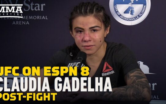 Claudia Gadelha Calls For Carla Esparza Rematch, 'Stop With the Excuses' – MMA Fighting