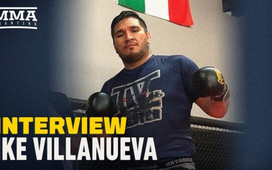 Ike Villanueva Predicts 'Hurricane Will Land' In May 13 UFC Debut – MMA Fighting