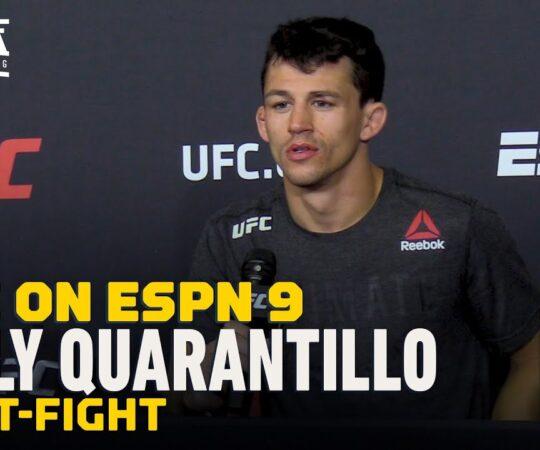 Billy Quarantillo UFC on ESPN 9 Post-Fight Press Conference – MMA Fighting