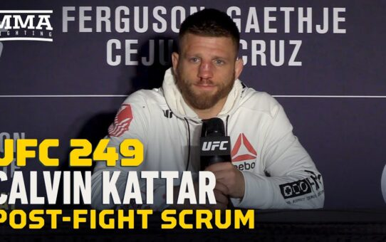 UFC 249: Calvin Kattar Wants Top-Five Opponent, TUF Coaching Gig Next – MMA Fighting